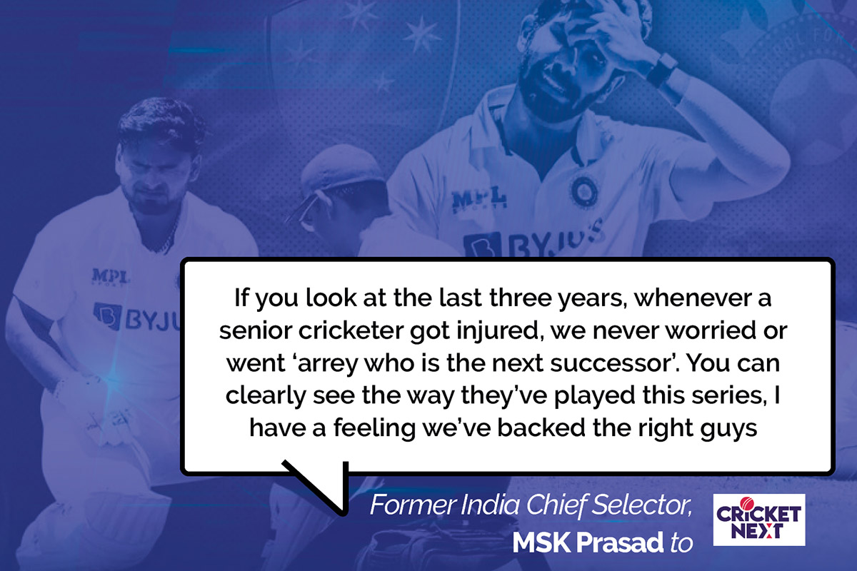 MSK Prasad speaks to @cricketnext about the processes that led to India winning in Australia for the second successive tour  #INDvAUS #AUSvIND   READ FULL INTERVIEW HERE: