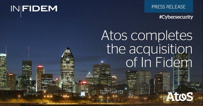 Atosha completadola adquisición de In Fidem, una empresa de consultoría especializada en c...