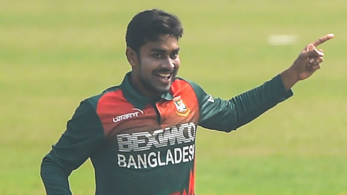 ✴️ 9.4 overs ✴️ 25 runs 4️⃣ wickets  Mehidy Hasan is the Player of the Match in the second #BANvWI ODI for his exceptional bowling performance 👏