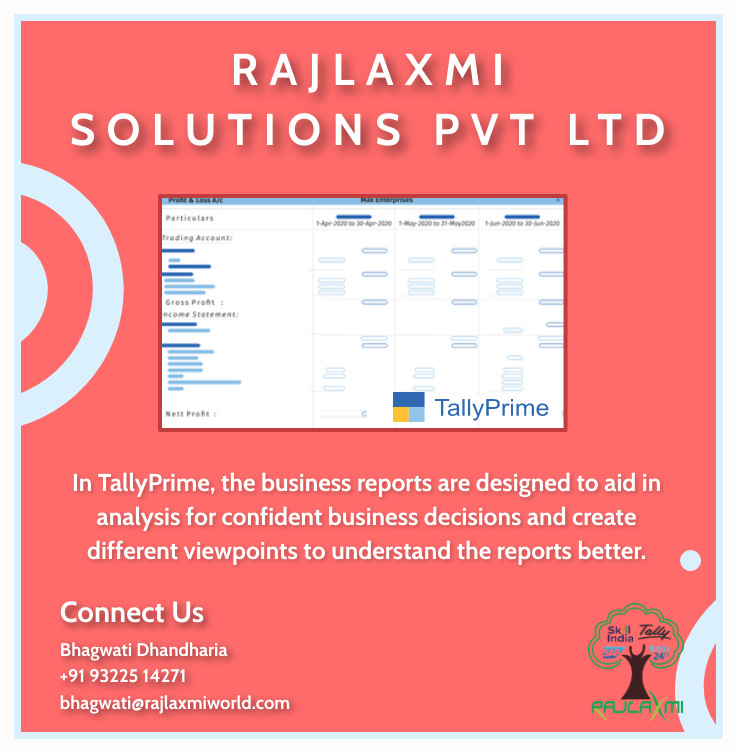 #RSPL #RajlaxmiSolutionsPvtLtd #tallyprime #erp #SAP #bitrix24 #bitrix #Acronis #SkillIndia #software #Accounts #CRM #tally #TallyERP9 #Tallysolutions #tallytraining #business #support #training #sales #webinar #ERPSolutions #einvoicing #invoicing #einvoice