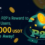 Image for the Tweet beginning: #KuCoin P2P's Reward to All