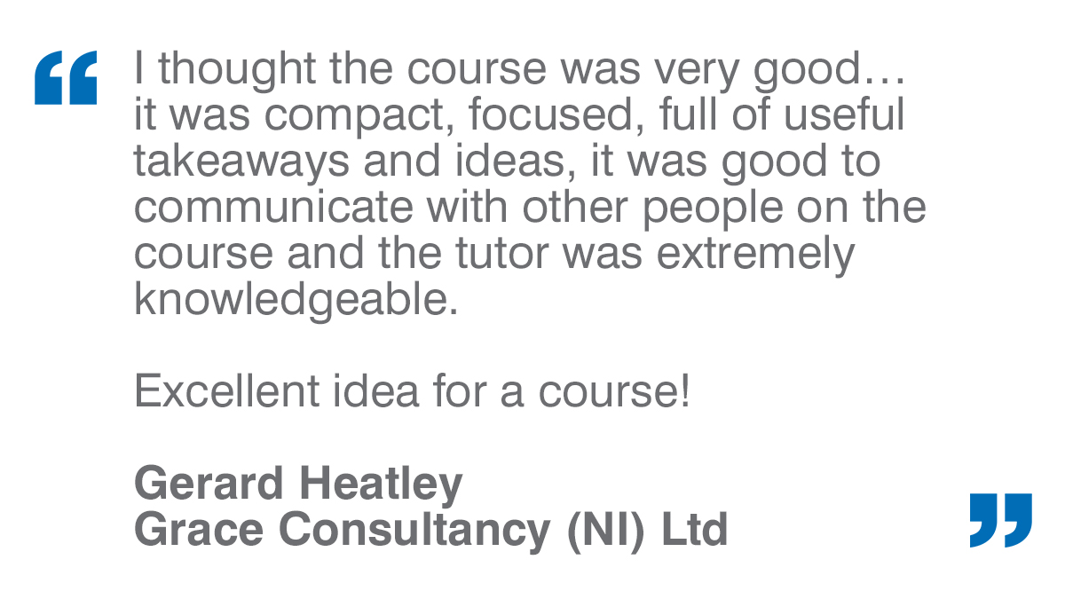 Some fantastic feedback on our Advanced Training: Process/Risk Based Auditing course from Grace Consultancy. Thank you!! Find out more here:  #testimonials #Advanced #Training #HappyFriday