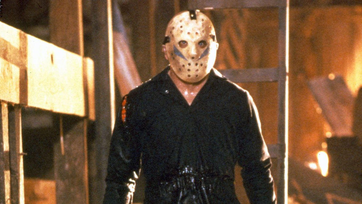 It's Friday just not the 13th so here's a hockey mask killer just not Jason. #HorrorFamily #horror #HorrorCommunity #fridaymorning