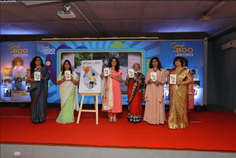 Book 'Speak-A-Boo' and Documentary 'Talk To Your Child' Released by Dr. Neeraj Suri @drneerajsuri9 #TalkToYourChild #childrensbook #Awareness   Read @NewsVoir Story |
