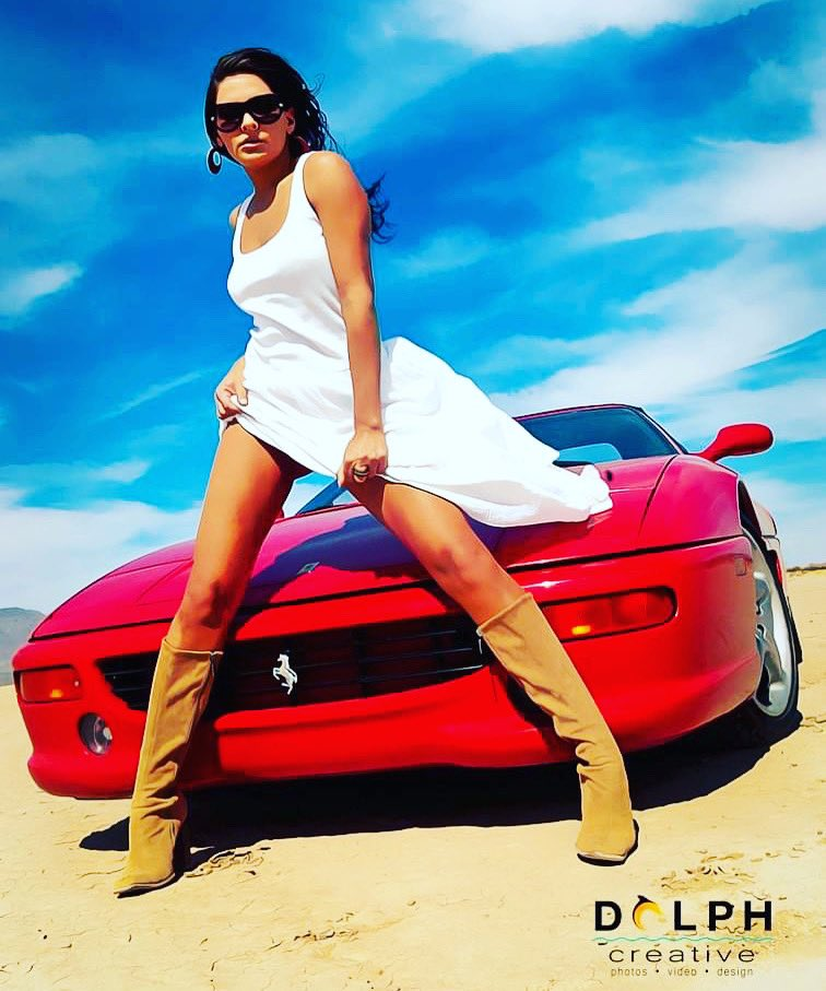 🆃🅷🅸🅽🅶🆂 🆃🅷🅰🆃 🅼🅰🅺🅴 🆈🅰 🅶🅾 🆅🆁🅾🅾🅾🅾🅼!🏎💨 #flashbackfriday to 2005 Las Vegas photoshoot. Living at 22 in the Wild, Wild West and loving everything fast and dangerous! 💃🏼🔥🎤📸🙏🏽😆 Photo cred: @tim_dolph  #Vegas #modellife #photooftheday #drylakebeds