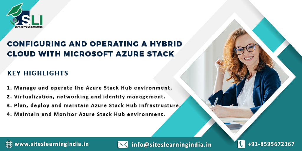Master the concepts of Microsoft Azure Stack and its important components in our exclusive SLI training program! for more detail visit:  #microsoft #microsoftazure #hybrid #cloud #exams #training #siteslearningindia