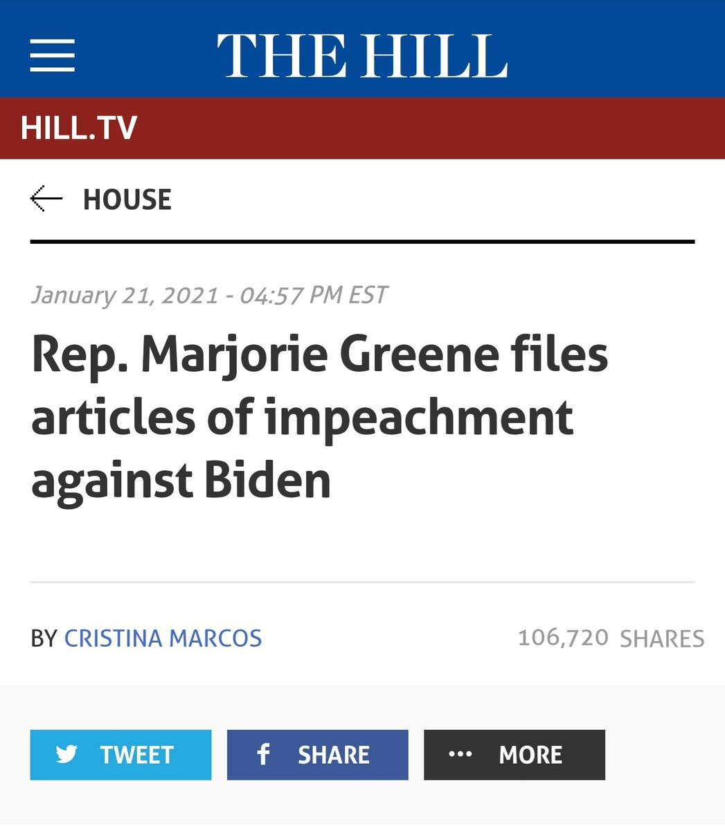 Holy Shit! Someone took this hashtag seriously #ImpeachBidenNow