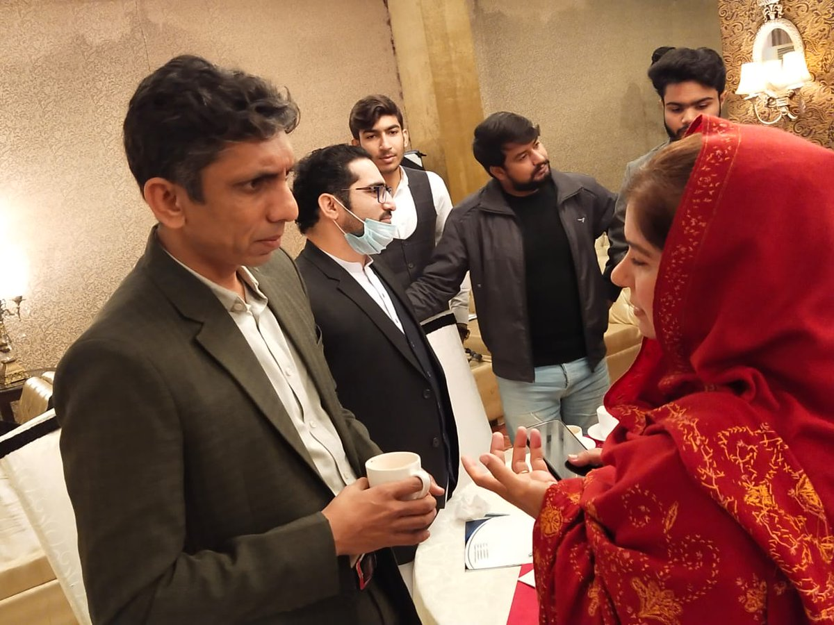 #MyMentor #Bold #Active #Favorite #Politician #MPA @ShaguftaMalik12 Was Invited as  a #GuestSpeaker To speak with young students at 'Youth for Interfaith Harmony' workshop in Peshawar which Was arranged by  @PAKPIPS #PositiveYouth  #YouthForChange  #DiversityIsOurStrength