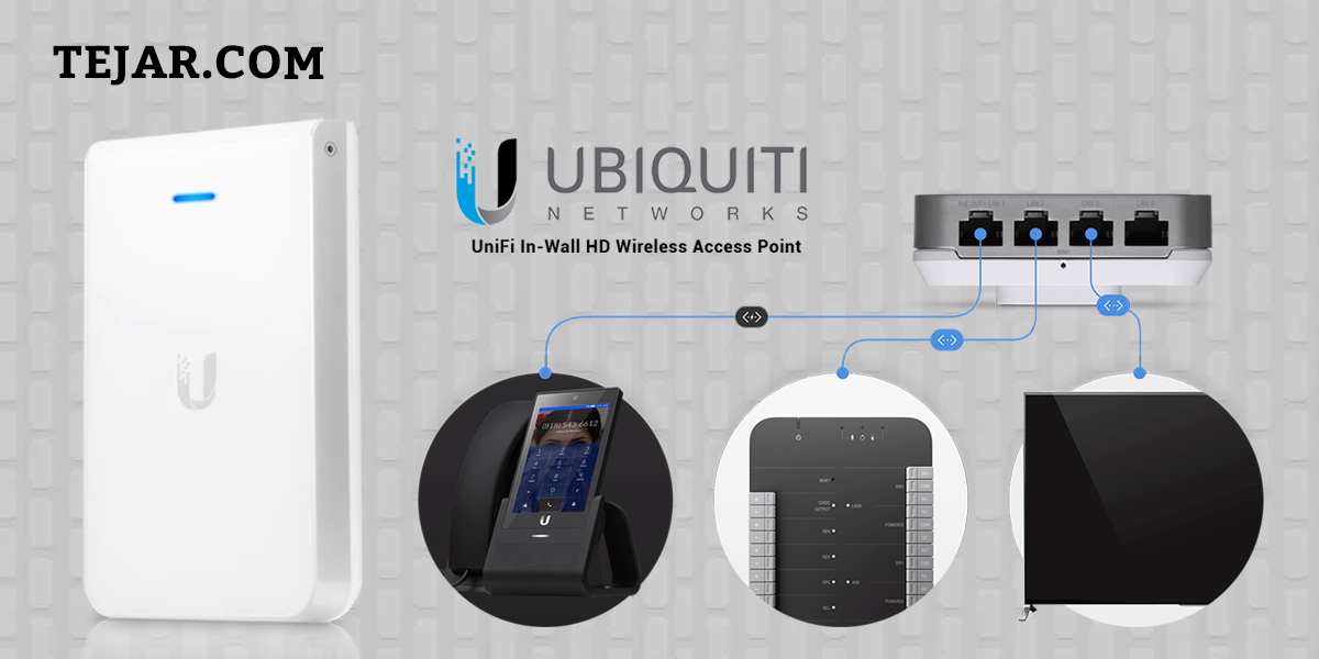 The UniFi IW HD AP is capable of complex operations (guest control, filtering, and other resource-intensive tasks) that may slow down a lesser-equipped Access point.  Buy now:   #Tejar #wfh #homeimprovement #office #uae #work #oman