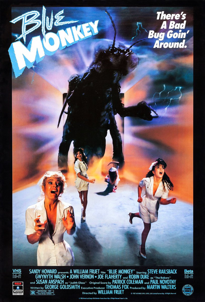 They're Everywhere!!  Triple Feature of Mutant-Creepy-Crawlers Finale @NowWatching @80sHorror @SonyPictures @MrHorror @80shorrormovies   FOM: 🏥(1987)🏥  #NowWatching #BlueMonkey #sonypictures #scifihorror #80sHorror #HorrorMovies #Horror #pupa #insect #itonlytakesone #VHS