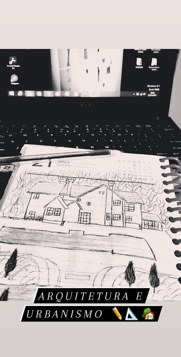 Aula de Externa✏📐🏡 #goodmorning #morningroutine #bomdia  #designer  #metas #objetivos #interiordesign #interior #deusnocomando  #designergráfico #interiores #fashiondesigner #fashionillustration #designermoda #illustration  #arquiteturadeinteriores #arquiteto #arquitetura