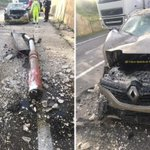 Image for the Tweet beginning: #Cronaca #Anas Incidente sulla Palermo-Sciacca: