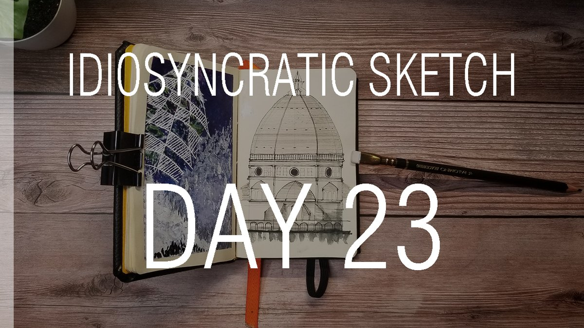 Idiosyncratic Sketch 23/365    #architecture #art #sketch #sketchbook #illustration  #dailysketch  #design