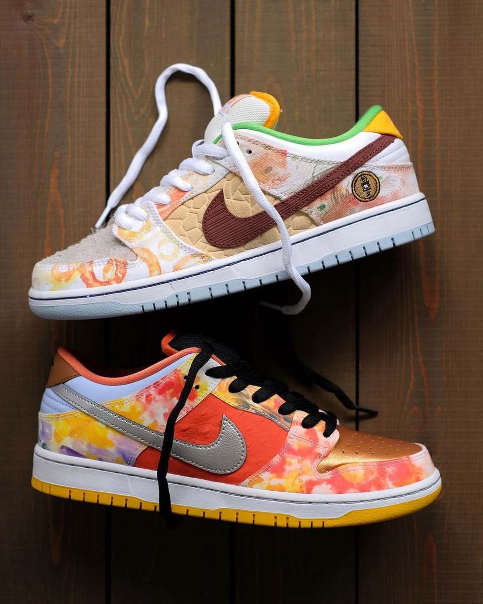 LIVE at 7am PT/10am ET via SNKRS: Nike SB Dunk Low Pro 'Street Hawker'    #AD