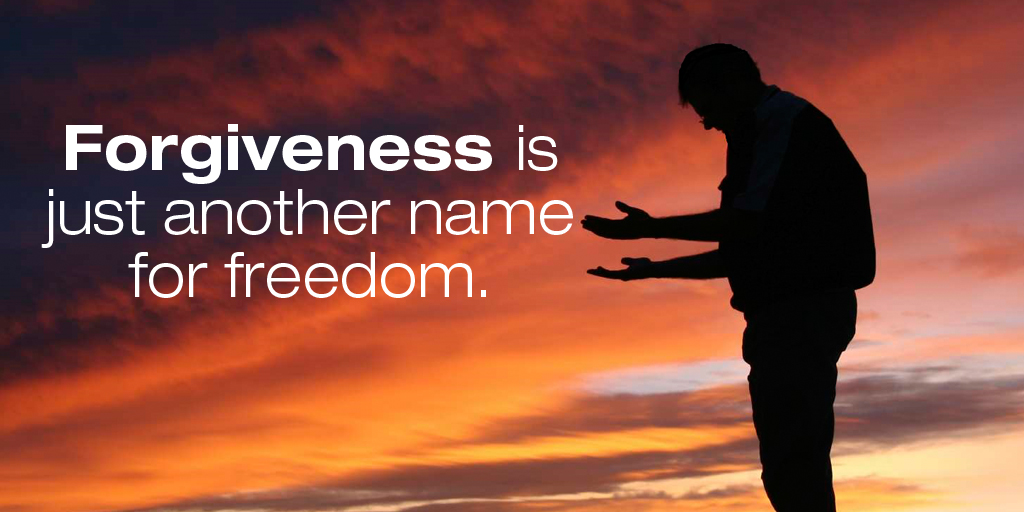 Forgiveness is just another name for freedom. #quote #ThankfulThursday