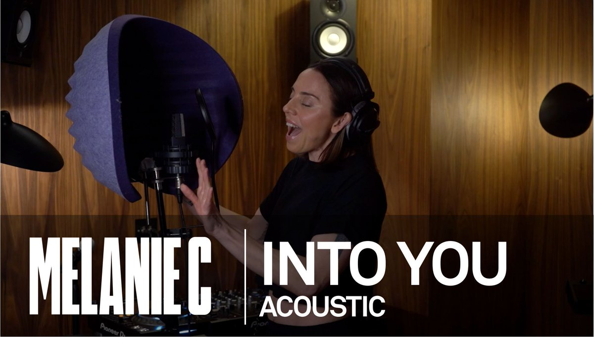 🎶 🖤  I've recorded an acoustic version of #IntoYou and it's out now!    📺  Check it out!   🎧  Stream now: