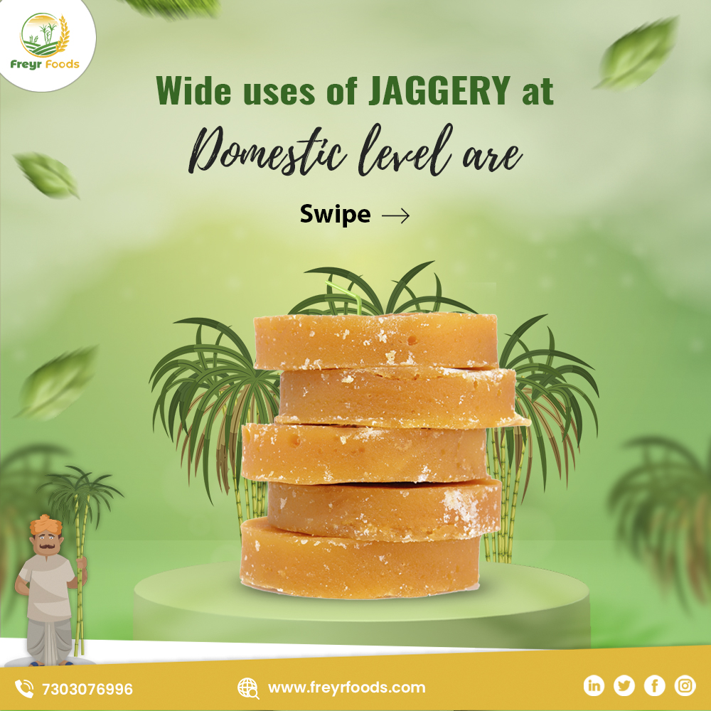 Jaggery or Gur is widely consumed in Indian households. Especially in winters, meal is considered incomplete without it.  . . #Freyr #Naturals #natural #nature #sugarcane #jaggery #organic #product #products #FreyrNaturals #health #healthy #fit #fitness #sweet #gur #india
