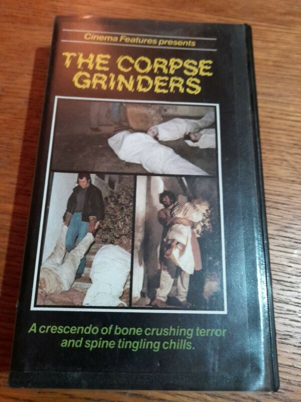 "Pre-cert VCL 2nd Release VHS Ted V Mikels ""THE CORPSE GRINDERS""   #ad #VHS #vhscollector #vhscollection #videocollector #coverart"