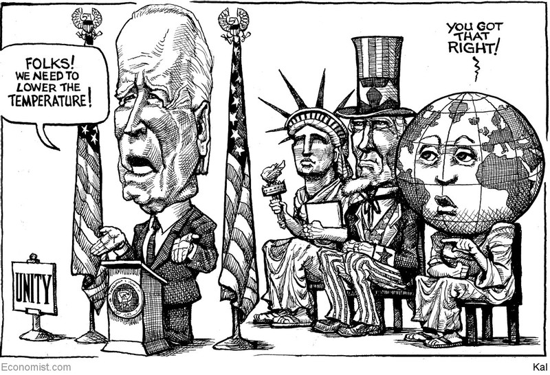This week's cartoon from KAL: