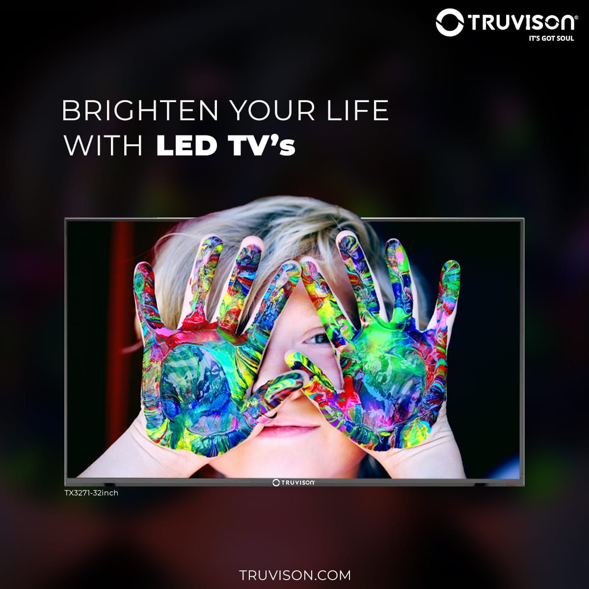 We thrive by providing value for money products to our valued customers, with our LED TV's manufactured with Tru Color Technology you can see the vivid details in every frame. #TX3271   #Truvison #TruPricey #Netflix #AmazonPrime #4K #SmartTV #FridayThoughts