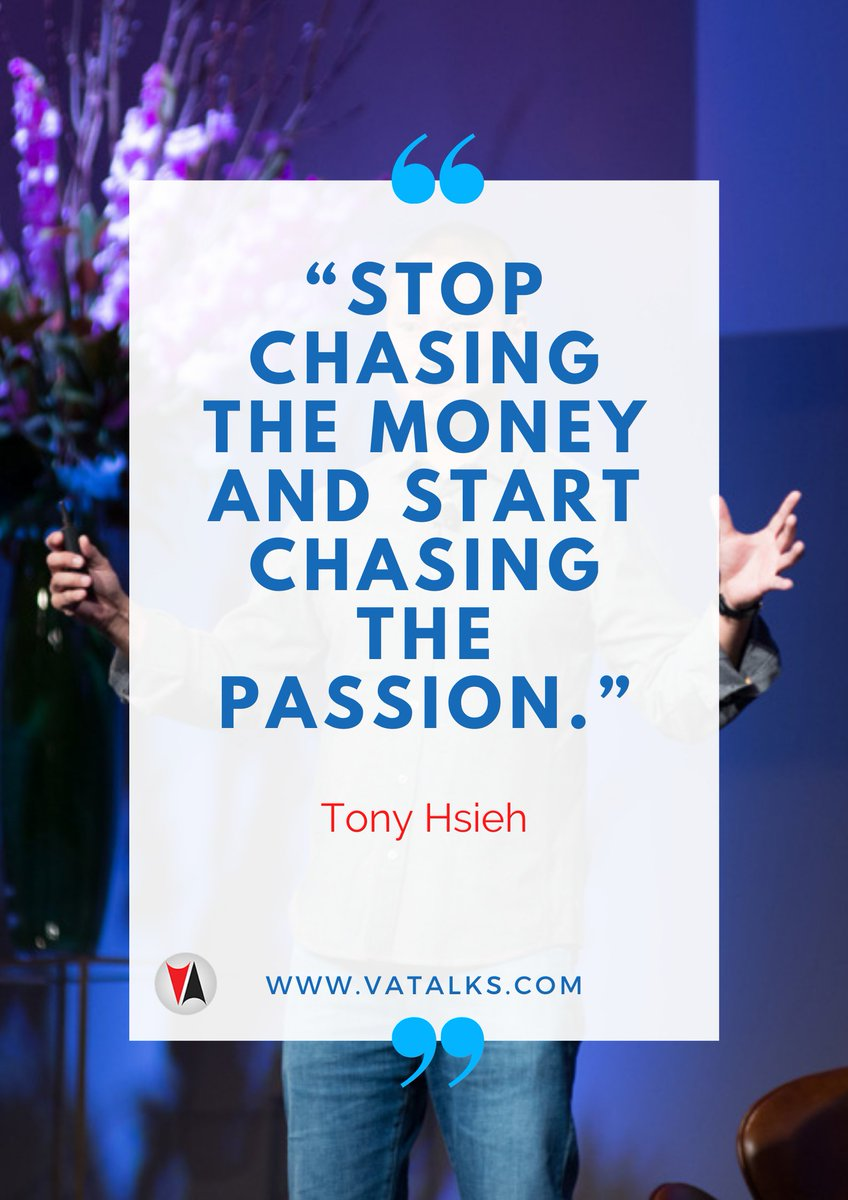 """""""Stop chasing the money and start chasing the passion."""" - Tony Hsieh  #influencer #thankful #life #happy #fun #love #FlashbackFriday #FridayFun #Friyay #FridayVibes #TGIF #instagood #nofilter #photooftheday #igers #picoftheday #lifeisgood #instapic #instadaily #instamood"""