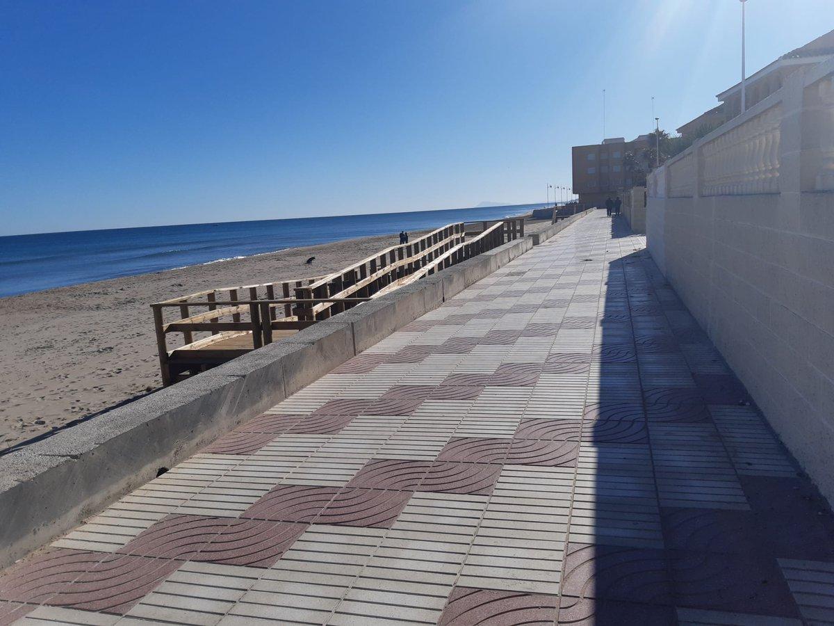 👉 Un año después de 'Gloria' El Perelló vuelve a lucir su paseo marítimo https://t.co/ED7o9GV7M1 https://t.co/Vu9navjKU7