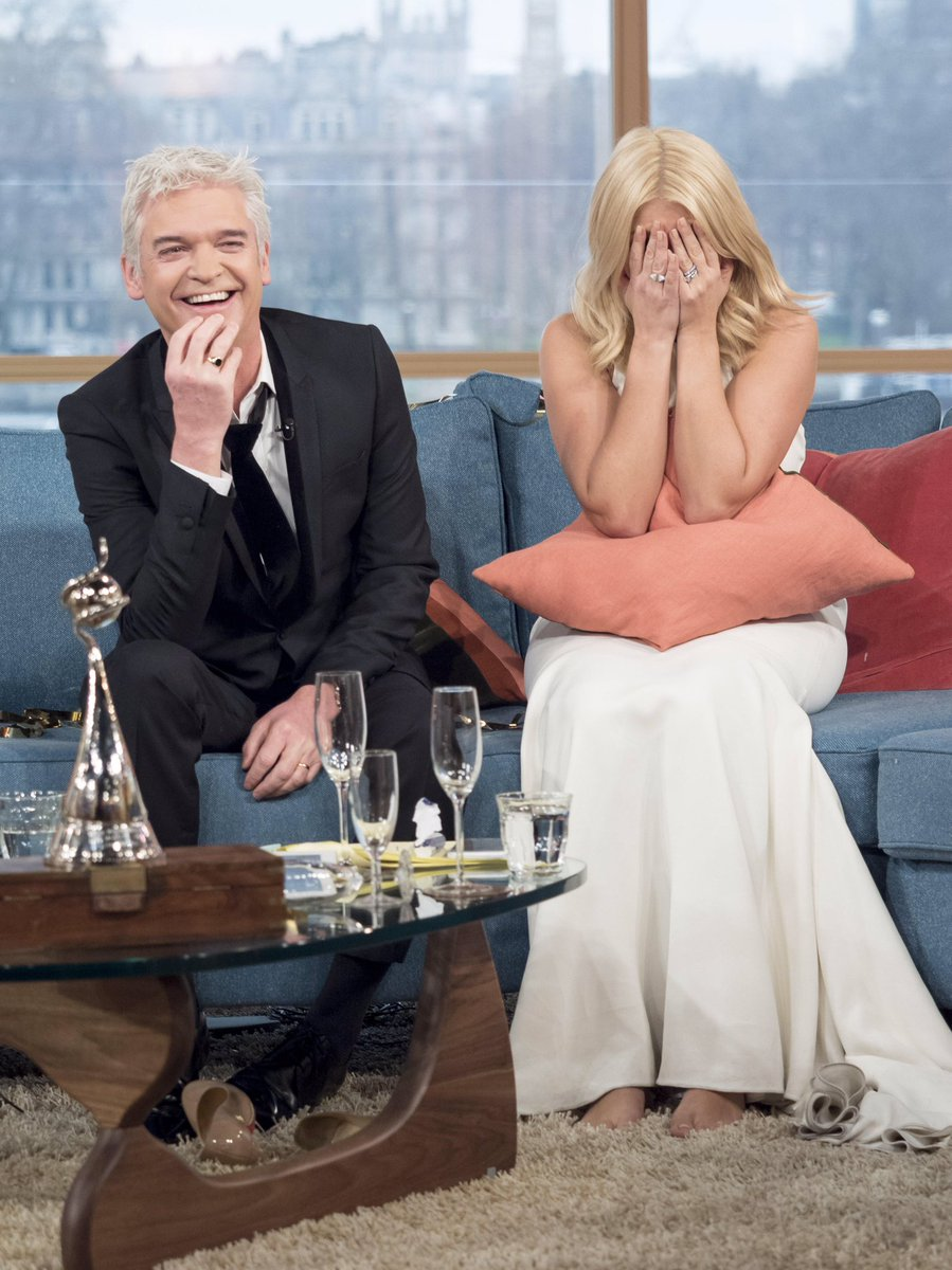 How it went (continued)... 🙈🙏🤪  @hollywills #ntas #thismorning #FlashbackFriday #FBF