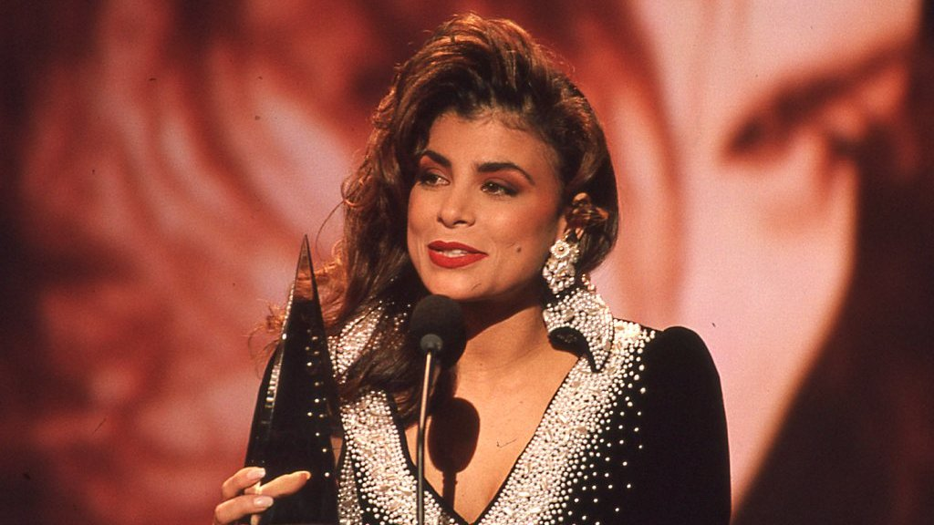 Today in 1990, the biggest and brightest music stars took to the stage for the American Music Awards. #PaulaAbdul, #MillliVanilli, #GloriaEstefan, #NKOTB #FlashbackFriday