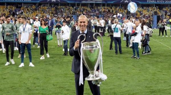 Real Madrid #coach Zinedine Zidane tests positive for coronavirus. #RealMadrid #COVID19 (File pic) (ANI)