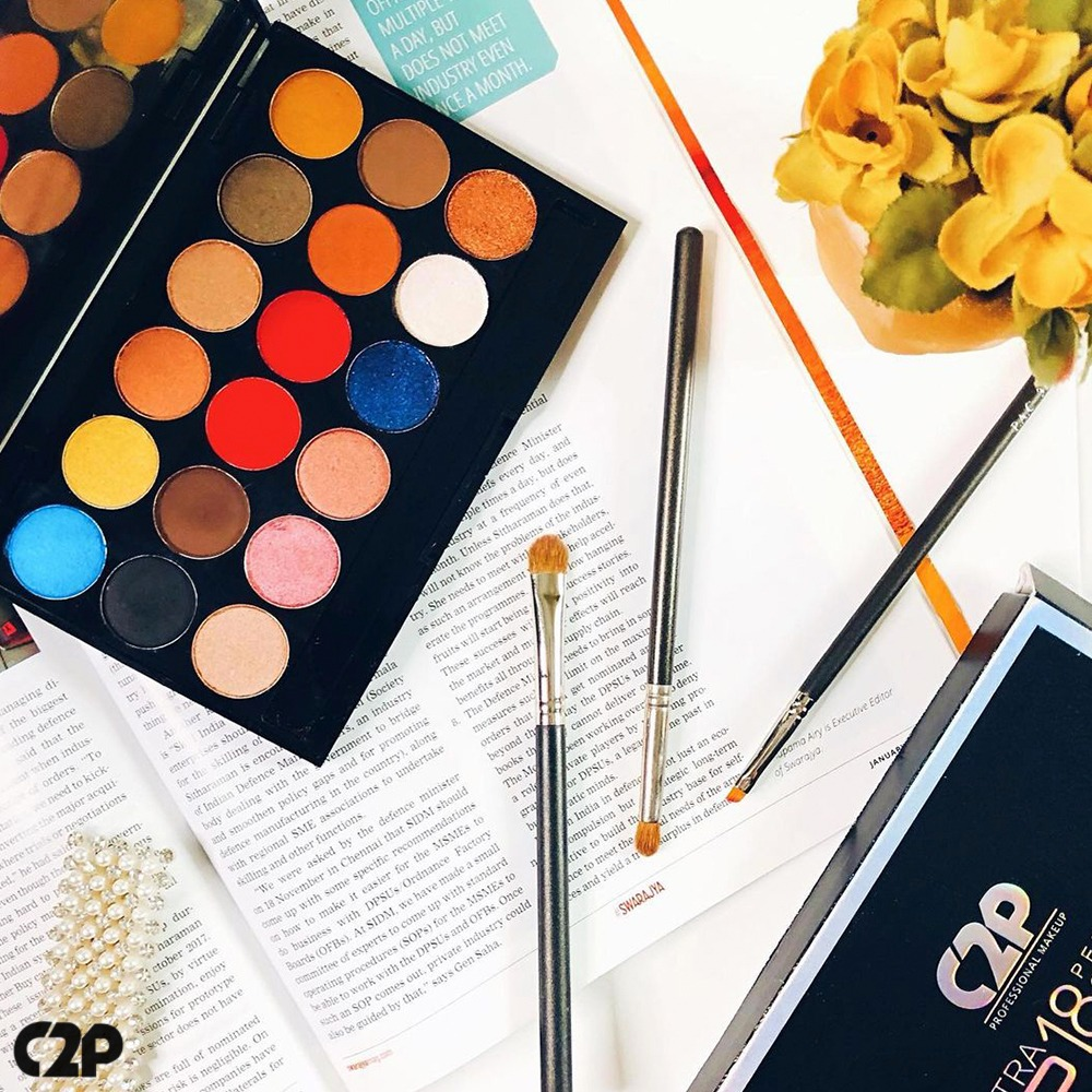 Everything you need for a perfect look comes in a Palette. Featuring- @glam_with_glow   Visit the link in the bio to shop now   #C2PPro #IndianBeauty #India #Beauty #Indian #Model #Bollywood #Fashion #Instagram #Beautiful #Makeup #Love #Photography #IndianBride #BridalMakeup