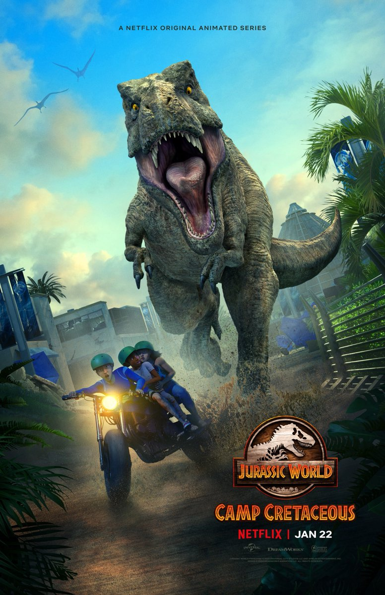 Jurassic World: Camp Cretaceous (Season 2) is now streaming on @NetflixIndia.  Dubbed by @SoundnVisionInd.  #jurassicworldcampcretaceousnetflix #campcretaceous #jurassicworld #NetflixSeries #netflixindia #dubbedbysvi #soundandvisionindia #svimumbai #sviteam #SoundandVisionStudios