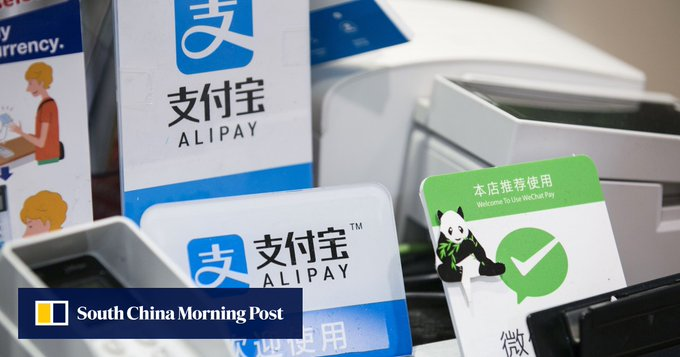 Why China's central bank leads antitrust drive and how this may affect Alipay, WeChat Pay Photo