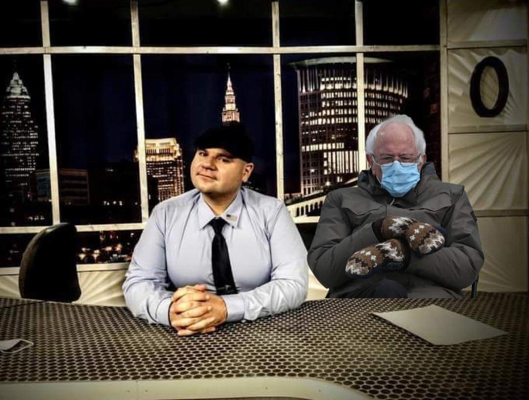 FINE BERNIE!   I'll turn up the heat in the studio!   Mid-70's for all! I get it...lol! 🤣  (Seriously...I love him though!)  @BernieSanders   #BernieSandersmemes #BernieSandersMittens  #Medicare4All #Inauguration2021  #fridaymorning