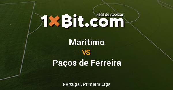 ⚽️ Portugal. Primeira Liga : #Marítimo 0 [2.88] vs [3.05] #PaçosdeFerreira 0 [2.605] #1xbit #bitcoin https://t.co/Hd3mA5CQZD https://t.co/1krZgyoLQZ