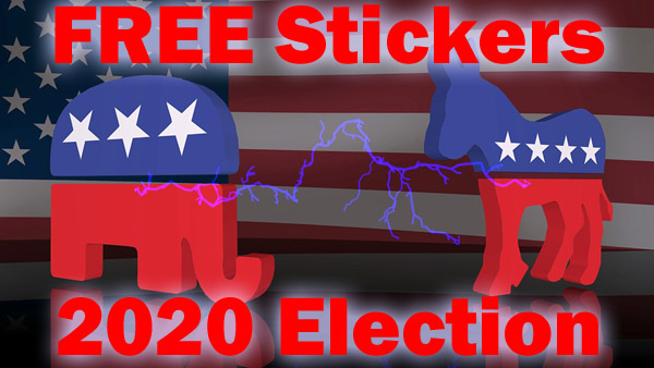 ►► MANY STILL AVAILABLE >>>>> FREE 2020 Presidential Candidate Stickers – FREE Election Bumper Stickers ►►  ►► #BidenHarris2020 #ElectionDay #Election2020 #Elections2020 #GOVOTE #PresidentTrump #Trump #Vote2020 ►► @FreebieDepot