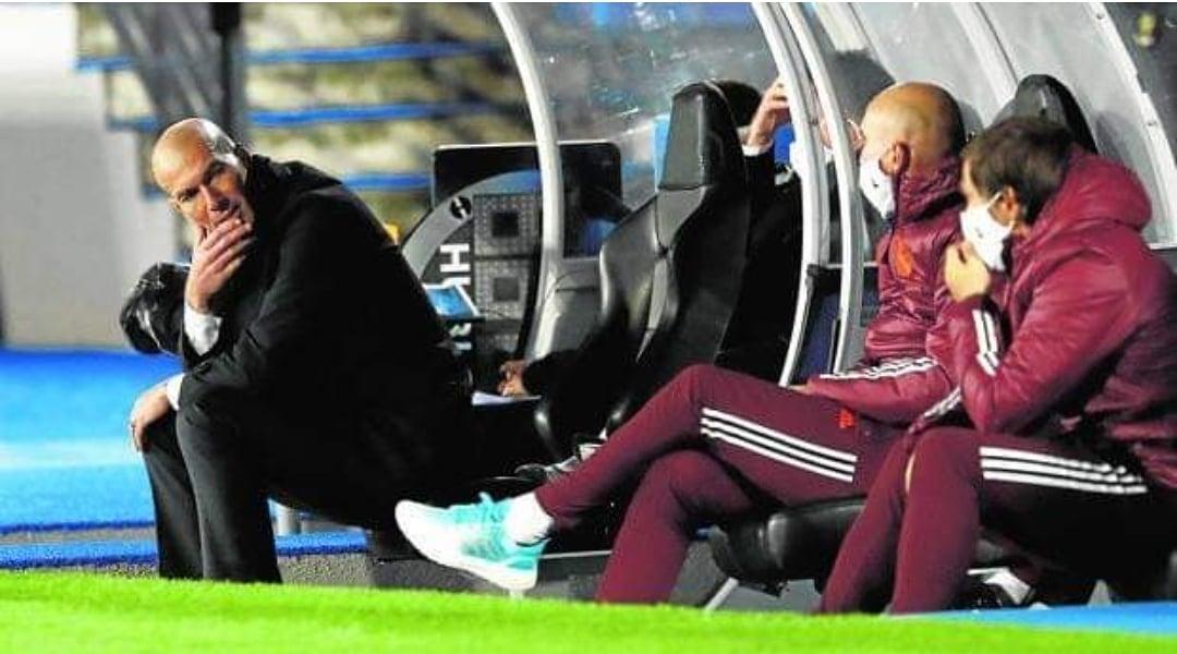 😮#Zidane dio positivo en coronavirus y quedará aislado. Además, #FedeValverde es baja por lesión para tres semanas en #RealMadrid😮