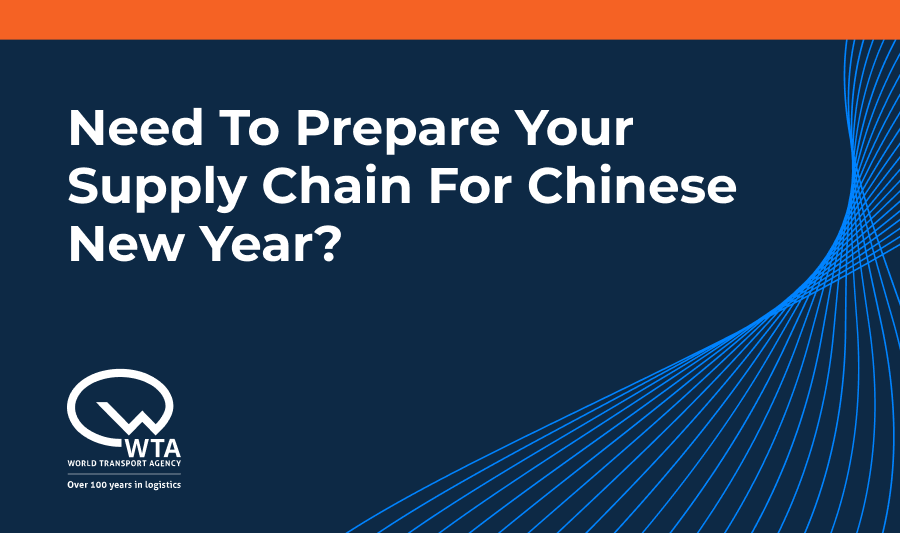 Are you prepared for the Chinese New Year, is your supply chain ready for the possible disruption? Check out our latest blog for key preparation tips  #shipping#logistics #supplychainlogistics #cny #newyear