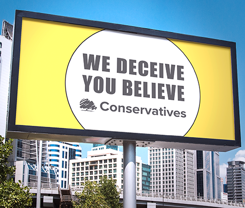 We Deceive. You Believe. .@Conservatives  #COVID19 #coronavirus #BrexitDisaster #BrexitShambles  #FridayThoughts