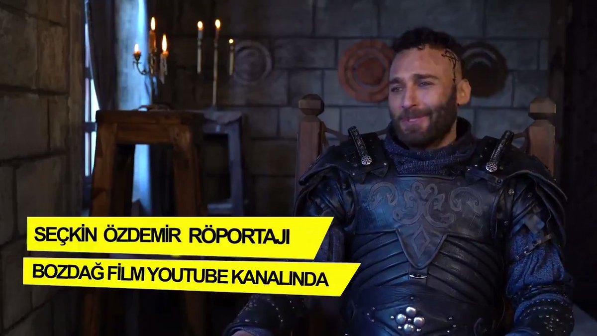 Seçkin Özdemir özel röportajı Bozdağ Film YouTube kanalında!  #KuruluşOsman @bozdagfilm