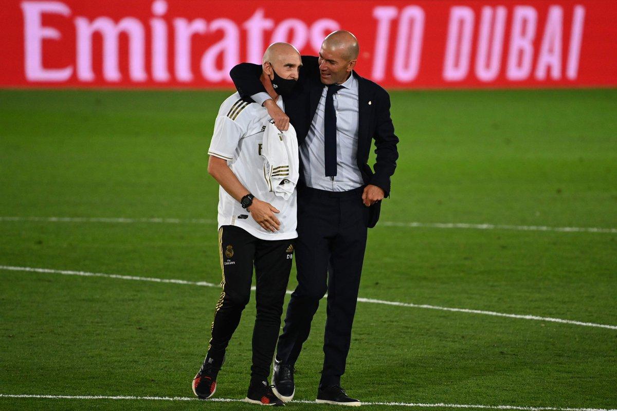 El Real Madrid, en manos de Bettoni tras el positivo por coronavirus de Zidane #RealMadrid