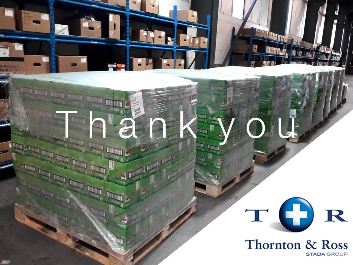 A huge thank you to Thornton & Ross for their donation of @LoveZoflora Disinfectant! These products will help charities continue to support communities safely during the crisis.  Have products to donate? Find out how:
