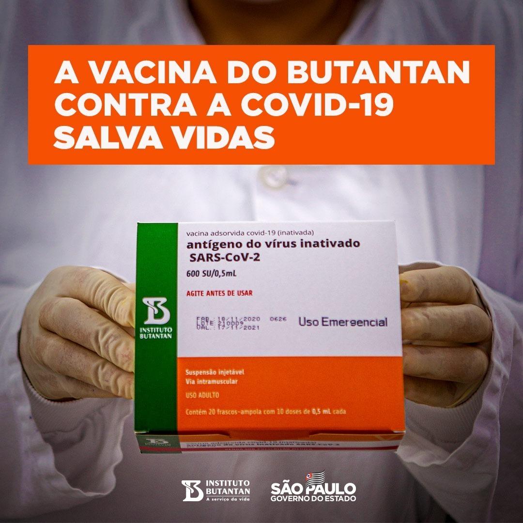 A vacina do Butantan já está correndo o Brasil, levando a marca da ciência e do esforço de diversos profissionais e cientistas comprometidos em salvar vidas. #podeconfiar #édoButantan #VacinadoButantan #Butantan120Anos #Vacina