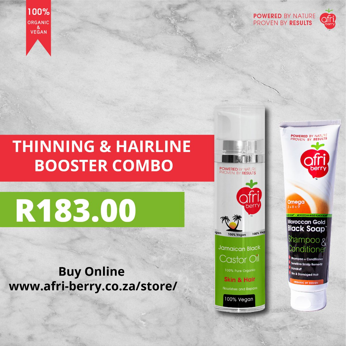 Visit our online store , choose combo that you like @affordableprice, all you need for your skincare and hair is right here @Afri_berry  #GirlsTalkZA #GirlsBuyZA #onlineshopping #Staysafe #StayHomeSaveLives #Covid-19