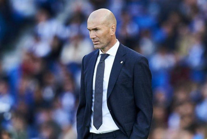 ريال مدريد يعلن إصابة مدربه الفرنسي زين الدين زيدان بفيروس كورونا