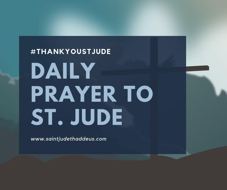 Daily Prayer to Saint Jude.     #saintjude #novena #novenatostjude #stjude #stjudenovena #thankyoustjude #prayer #catholic #catholicfaith