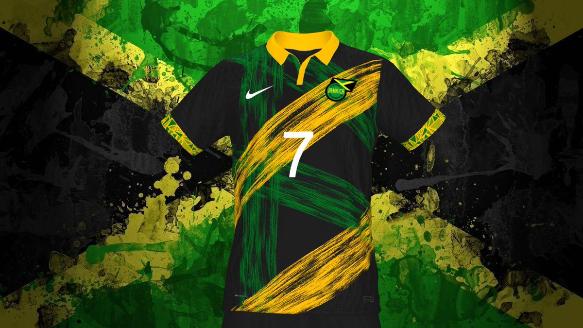 MAILLOT JAMAÏQUE COUPE DU MONDE 2022 @nike x @jff_football  Create by me😉  #football #footballnation #worldcup #worldcup2022 #jfffootball #jff #jamaica #jamaique #jamaicanfootball #nike #conceptkit #creation #design #konamifrance #konamifootball #easportsfifa #easports #ps5