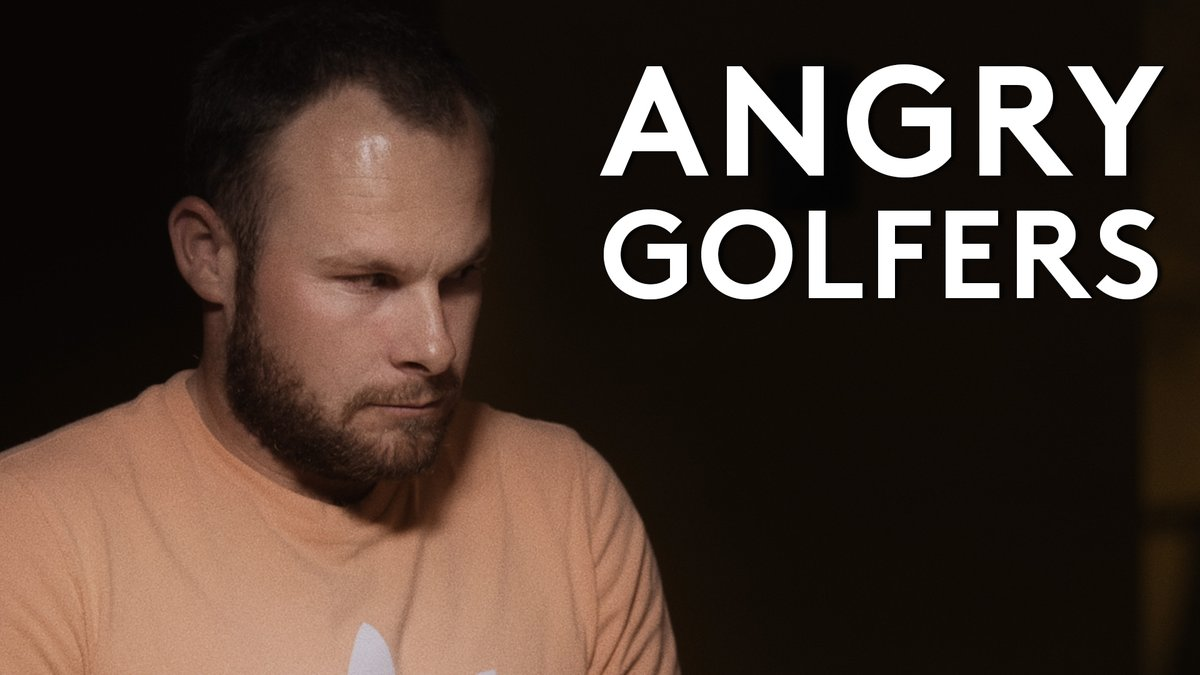 New season, new attitude.  Introducing #AngryGolfers 😡
