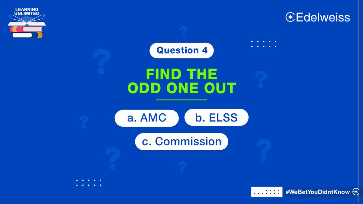 Here's going the old school way! Can you find the odd one out from the financial terms? If you need a hint, visit our blog at  and check the T&C's at .  #ContestPost #Contest #Finance #LearningUnlimited #WealthManagement