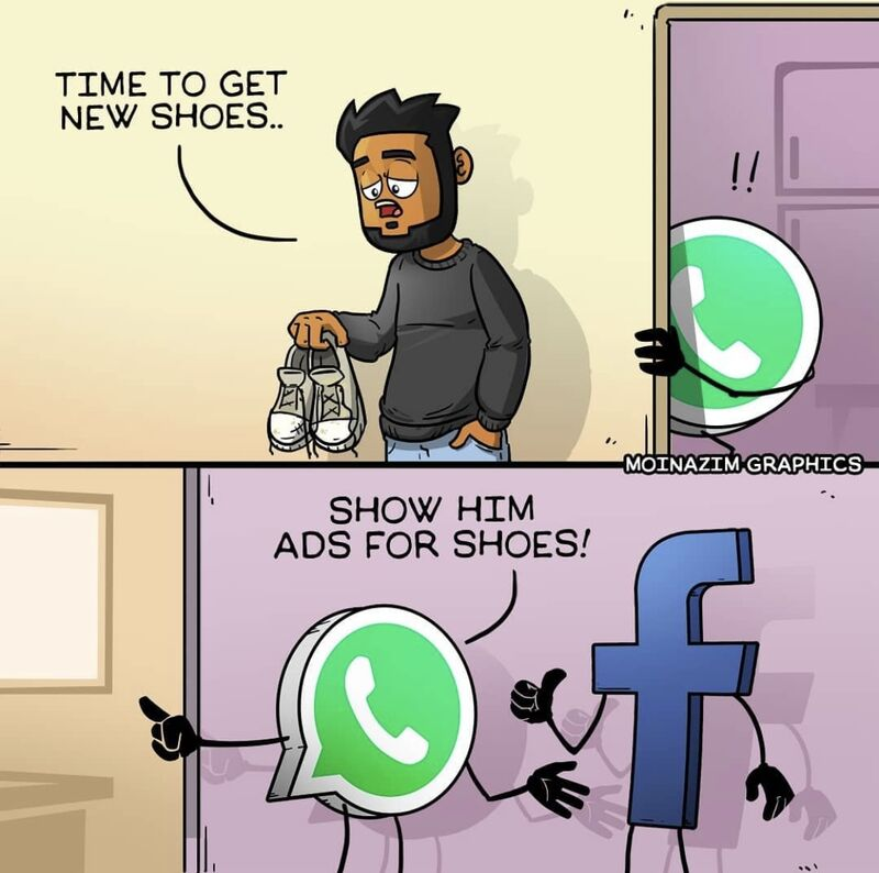 The new privacy policy is to authorize this 😁  #whatsapp📲 #tech #software #privacy #Data #facebookads #chat #softwaresolutions #debunqed #fridayvibes #privacypolicy #memes #FunnyFriday https://t.co/MtF4BU0O9l