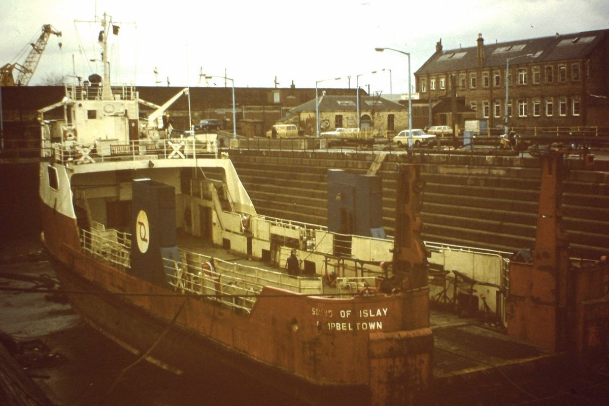 Oh hello! This photo of Sound of Islay was taken on 21 August 1972 as she was about to leave Campbeltown and the photo credit goes to David S. If you have any photos of our former vessels, we'd love to feature them as a #FlashbackFriday #FBF